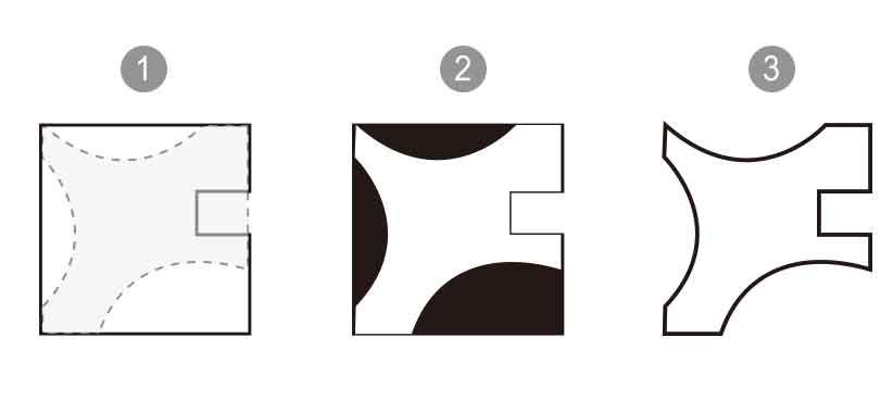 十字榫接公仔架腳架造型製作