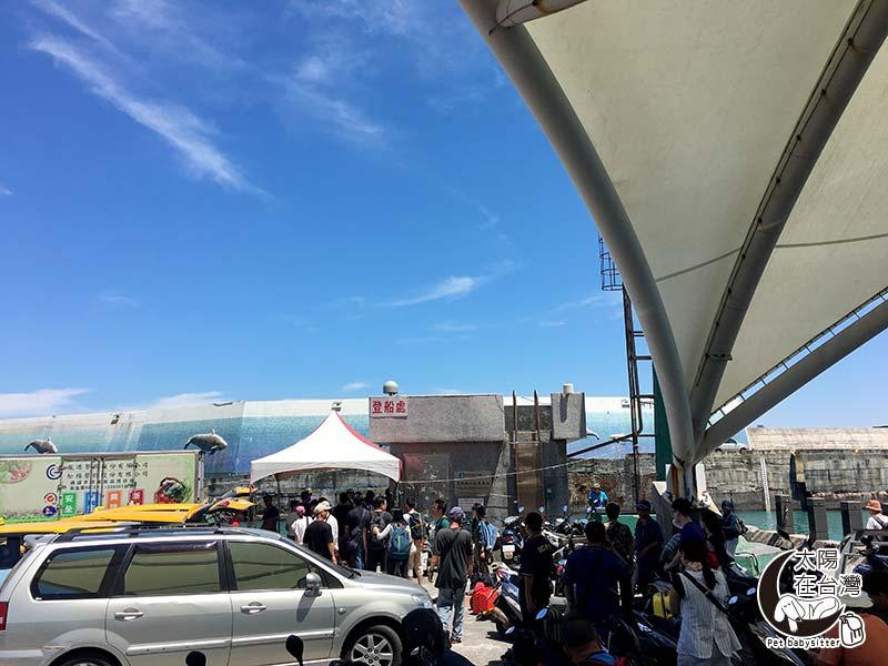 台東至綠島登船處-綠島寵物旅遊-太陽在台灣
