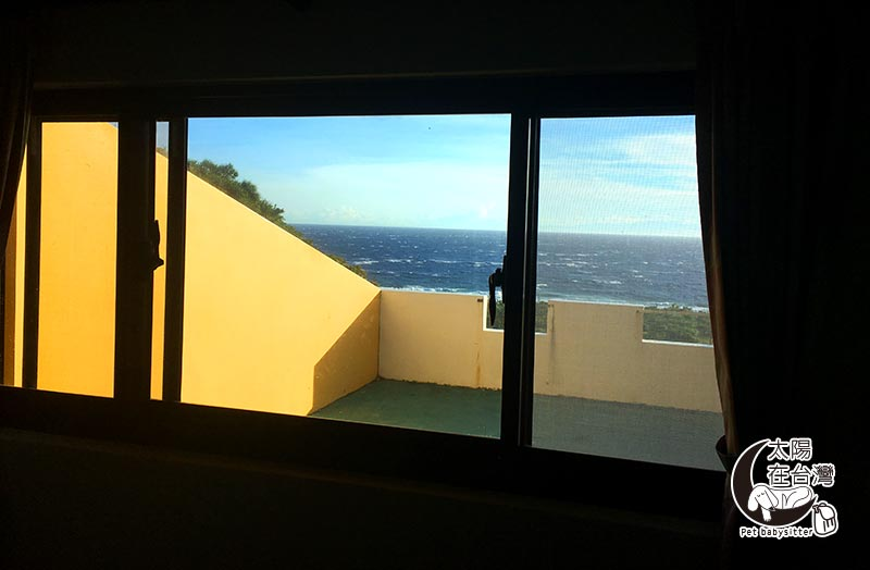白沙灣32號民宿-綠島寵物旅遊-太陽在台灣