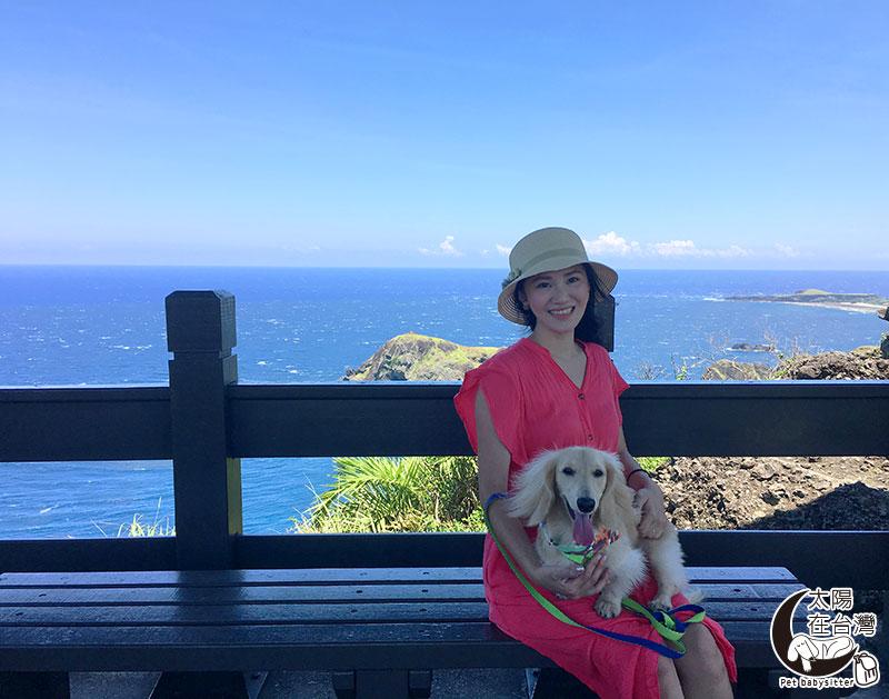 綠島小長城-綠島寵物旅遊-太陽在台灣