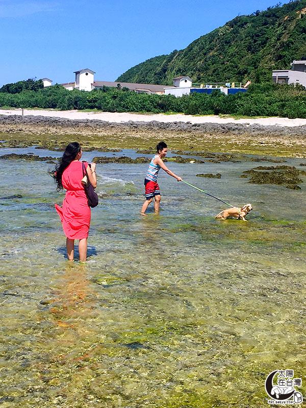 綠島柴口-綠島寵物旅遊-太陽在台灣