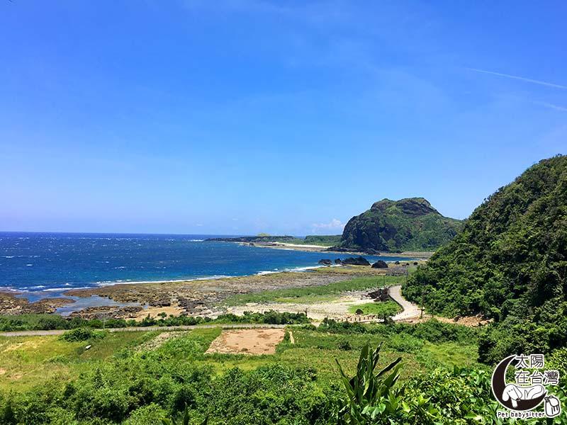 綠島寵物旅遊-太陽在台灣