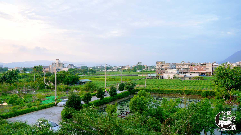 花蓮旅遊-民宿房間外景觀