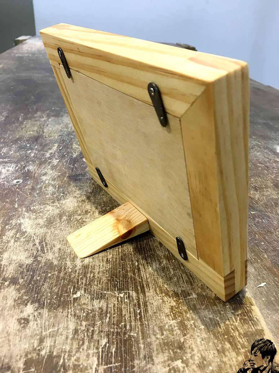 細木工榫接相框